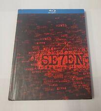 Se7En - Brad Pitt/Morgan Freeman/Gwyneth Paltrow Blu-Ray Digibook!