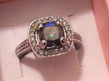 princes rings 925 Sterling Anniversary Princess Moissanite 2.58ct