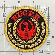 Vintage RUGER FIREARMS patch USA JL133