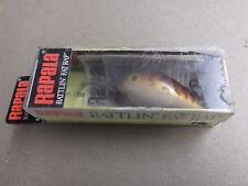 Hard to Find Rapala Rattlin Fat Rap,RFR-5,CW,Crawdad,Ireland Made