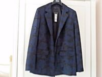BNWT M&S LIMITED  EDITION PRINT JACKET SIZE 8 £65