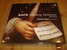 Signed Signiert RICHARD EGARR Bach Goldberg Variations HARMONIA MUNDI 2 CD