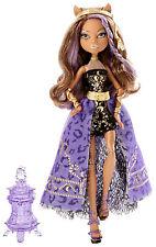 Monster High clawdeeen Wolf 13 deseos coleccionista muñeca raramente y7705