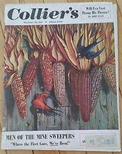 COLLIERS MAGAZINE NOVEMBER 10 1951 ARCHBISHOP CUSHING MUSKINGUM YALE FOOTBALL