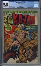 Astonishing Tales # 11 CGC 9.0 Origin of Ka-zar and Zabu