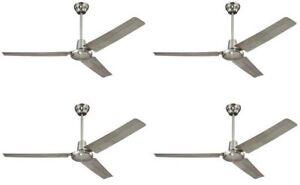 Westinghouse 7861400 Industrial 56-Inch Three-Blade Indoor Ceiling Fan - 4 Pack