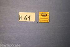 (H61) playmobil pièce dorée train locomotive 4017
