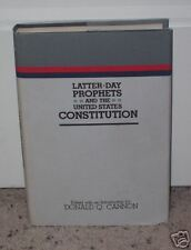 Mormon Book of LATTER-DAY PROPHETS & THE CONSTITUTION