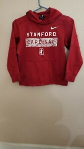 Stanford Cardinals Hooded Polyester Sweatshirt Hoodie Size Youth M Nike