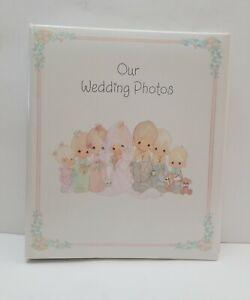 "Precious Moments ""Our Wedding Photos"" Hallmark Photo Album  vintage 1992"