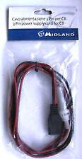 Cable de Alimentación Midland original para CB 68-48 y Intek Cod.9060161 3050