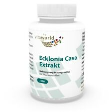 Ecklonia Cava extract 50mg + Spirulina 120 Capsules Vita World German pharmacy