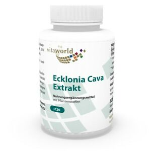 Ecklonia Cava extract 120 Capsules Vita World German pharmacy