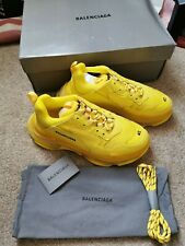 Balenciaga Triple S Yellow clear sole size 42 UK 8 New