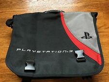 Official Sony PlayStation 3 Messenger Bag PS3 Travel Transport Backpack Case