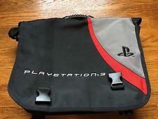 Official Sony PlayStation 3 Messenger Bag PS3 Travel Transport Backpack Case