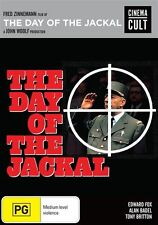 The Day Of The Jackal (DVD, 2017)EX RENTAL DISC CASE AND ARTWORK $3 OR 5 FOR $9