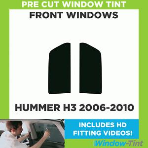 Pre Cut Window Tint - Hummer H3 2006-2010 - Front Windows