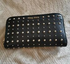 FINAL SALE Authentic Miu Miu Wallet