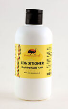 Dry & Damaged Hair Conditioner with Emu Oil 250ml, NATURAL and REHYDRATING