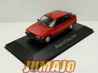 AQV11J Voiture 1/43 SALVAT Inolvidables 80/90: Renault 11 TURBO rouge 1986