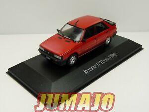 AQV11 Voiture 1/43 SALVAT Inolvidables 80/90: Renault 11 TURBO rouge 1986