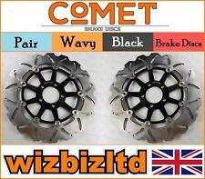 COMET Pair Front Brake Discs Kawasaki ZZR 1100 (ZX 1100 C1-C3) 90-92 W914BK