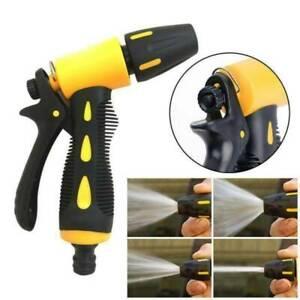 UK High Pressure Water Spray Gun Nozzle Garden Outdoor Hose Pipe Lawn Car Wash