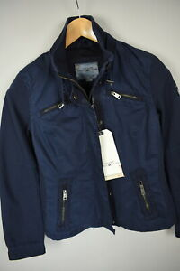 TOM TAILOR POLO TEAM FABRIC MIX Jacket Wmn XS Cotton Shell Fitted Jacket 0377