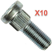 10 Wheel Lug Studs Front or Rear Replace OEM # 610025