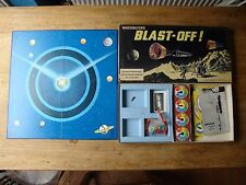 Vintage Waddington's Blast-of! Board Game 1969 Space Expoloration