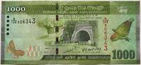 SRI LANKA - 1000 ROUPIES (2010) - Billet de banque (TTB)