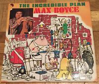 Max Boyce - The Incredible Plan LP Record Vinyl MB 102 EMI 1976 UK
