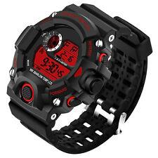 Mode Herren Armbanduhr Uhr LED Digital Wasserdicht Analog Sportuhr Sport Watch w