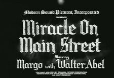 MIRACLE ON MAIN STREET (1939) DVD MARGO, WALTER ABEL