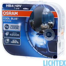 Hb4 OSRAM Cool Blue Intense-elegante look-Duo-Pack-Box NUOVO