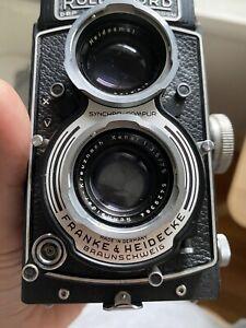 Rolleicord F3.5 75mm 6x6 Medium Format TLR Camera