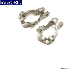 Team Losi Racing 344005 Front Spindle Carrier Set Aluminum 15 Deg: 8/8E/8T 4.0