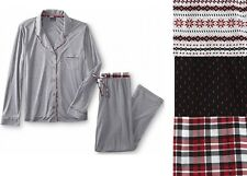 Covington Womens Pajama Shirt and Pants Set size S M XL NEW