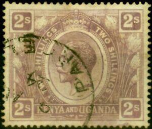 KUT 1922 2s Dull Purple SG88 Good Used