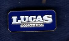 FRANK LUCAS CHEYENNE OKLAHOMA CONGRESS AGRICULTURE POLITICAL CAMPAIGN LAPEL PIN
