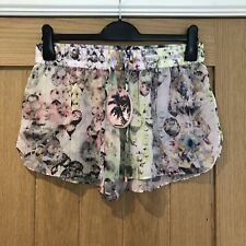 Ted Baker Shorte Crystal Droplet Sheer Cover Up Shorts, Size M, BNWT, RRP £49