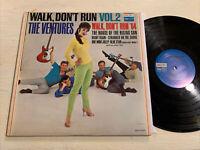 The Ventures Walk Don't Run Vol. 2 LP Dolton Mono Garage Surf Instrumental VG
