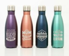 Stainless Steel Vacuum Insulated Water Bottle Flask Hot & Cold Drink 350ml