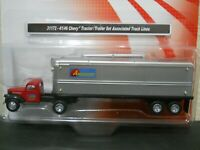 Ho scale 1/87 Classic Metal Works Chevy Truck & Trailer Associated truck Lines