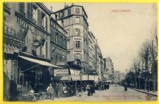 cpa 75 PARIS Bd de ROCHECHOUART Commerces à la Grande MANUFACTURE HÔTELS Meublé