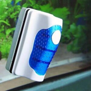 Magnetic Aquarium Fish Tank Glass Floating Cleaner Brush Aquatic Algae Clean Pet