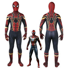New Avengers Infinity War Peter Parker Iron Spider-Man Suit Costume Cosplay Suit