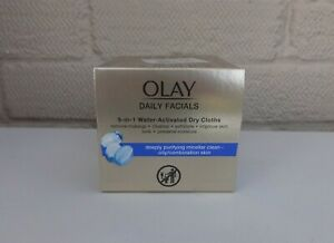 OLAY Daily Facials Water Activated Dry Cloths - 30 Clothes