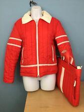 75c6b96506 Vintage  80 s Jean Claude Killy Ski Jacket Size 12 Made in Korea + matching  bag